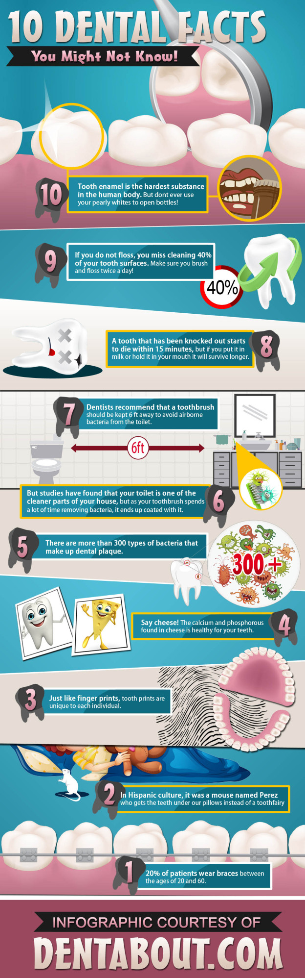 10 dental facts